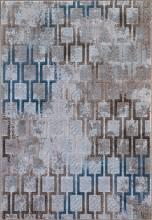 Ковер D591 - CREAM-BLUE - Прямоугольник - коллекция MATRIX - фото 2