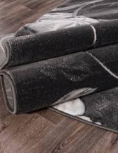 Ковер 1059 - GRAY - Овал - коллекция MEGA CARVING - фото 3