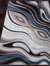 Ковер 1385 - GRAY - Прямоугольник - коллекция MEGA CARVING