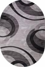 Ковер 4783 - GRAY - Овал - коллекция MEGA CARVING - фото 2