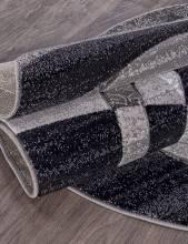 Ковер d264 - GRAY - Овал - коллекция MEGA CARVING - фото 3