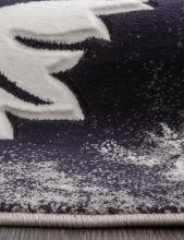 Ковер d272 - GRAY - Овал - коллекция MEGA CARVING - фото 2