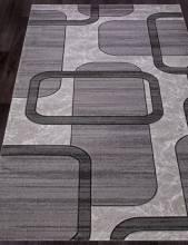 Ковер D465 - LIGHT GRAY - Прямоугольник - коллекция MEGA CARVING