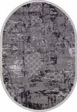 Ковер NP 250 - GREY / BLACK - Овал - коллекция MOROCCO - фото 2