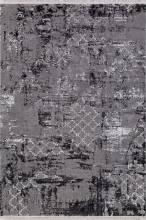 Ковер NP 250 - GREY / BLACK - Прямоугольник - коллекция MOROCCO - фото 2