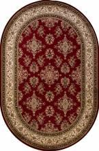 Ковер d064 - RED - Овал - коллекция OLYMPOS - фото 2