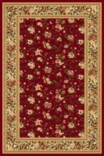 Ковер d387 - RED - Прямоугольник - коллекция OLYMPOS