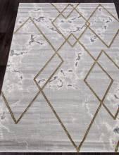 Ковер 04421E - GOLD / GOLD - Прямоугольник - коллекция OMEGA
