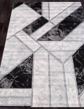 Ковер 04423S - SILVER / SILVER - Прямоугольник - коллекция OMEGA