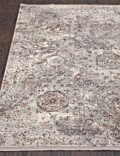 Ковер 7251A - WHITE / WHITE - Прямоугольник - коллекция PAMIR