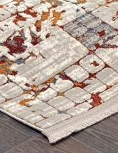 Ковер 7253A - WHITE / WHITE - Прямоугольник - коллекция PAMIR - фото 4