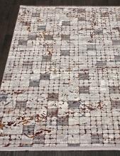 Ковер 7253A - WHITE / WHITE - Прямоугольник - коллекция PAMIR