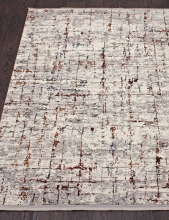Ковер 7261A - WHITE / WHITE - Прямоугольник - коллекция PAMIR