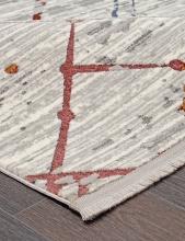 Ковер 7342A - WHITE / WHITE - Прямоугольник - коллекция PAMIR - фото 4