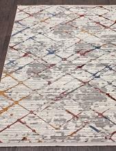Ковер 7342A - WHITE / WHITE - Прямоугольник - коллекция PAMIR