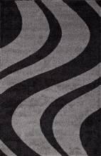 Ковер t617 - GRAY-BLACK - Прямоугольник - коллекция PLATINUM - фото 2