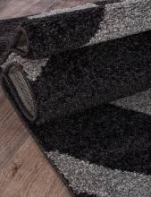 Ковер t617 - GRAY-BLACK - Прямоугольник - коллекция PLATINUM - фото 3