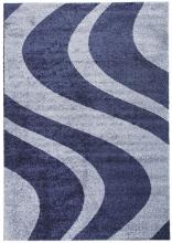 Ковер t617 - NAVY-BLUE - Прямоугольник - коллекция PLATINUM