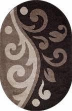 Ковер t621 - D.BEIGE-BROWN - Овал - коллекция PLATINUM - фото 2