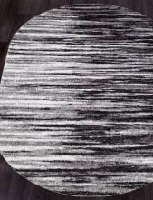 Ковер t623 - GRAY - Овал - коллекция PLATINUM