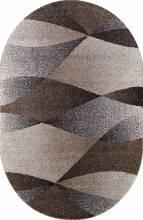 Ковер t636 - BEIGE - Овал - коллекция PLATINUM - фото 2