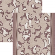 Ковровая дорожка p1288c5r - 93 - коллекция принт 8-ми цветная дорожка