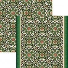 Ковровая дорожка p1507a4p - 36 - коллекция принт 8-ми цветное полотно