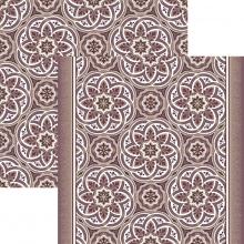 Ковровая дорожка p1507a6p - 93 - коллекция принт 8-ми цветное полотно