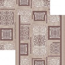 Ковровая дорожка p1614c5p - 93 - коллекция принт 8-ми цветное полотно