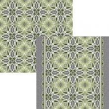 Ковровая дорожка p1678a5p - 46 - коллекция принт 8-ми цветное полотно