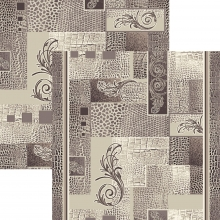 Ковер p1604a2p - 100 - Прямоугольник - коллекция принт обр 8-ми цветное полотно