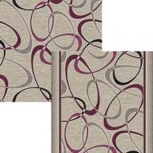Ковер p1729a2p - 102 - Прямоугольник - коллекция принт обр 8-ми цветное полотно