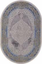Ковер 33031 - 030 BLUE - Овал - коллекция QATAR - фото 2