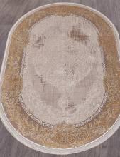Ковер 33031 - 070 BEIGE - Овал - коллекция QATAR