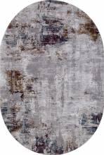 Ковер 03002G - GREY / GREY - Овал - коллекция QUANTUM - фото 2