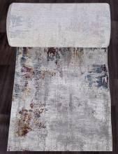 Ковровая дорожка 03002G - GREY / GREY - коллекция QUANTUM