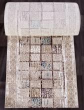 Ковровая дорожка 03004B - BROWN / BROWN - коллекция QUANTUM