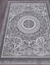 Ковер 03006G - GREY / GREY - Прямоугольник - коллекция QUANTUM