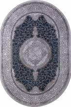 Ковер 03014G - GREY / GREY - Овал - коллекция QUANTUM - фото 2