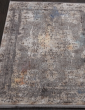 Ковер 31601 - 095 GREY - Прямоугольник - коллекция QUARES