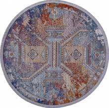 Ковер 05711G - GREY / GREY - Овал - коллекция RIM - фото 2