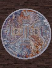 Ковер 05711G - GREY / GREY - Овал - коллекция RIM