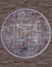 Ковер 05712G - GREY / GREY - Овал - коллекция RIM