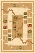 Ковер d077 - ORIGINAL - Прямоугольник - коллекция RIVIERA