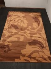 Ковер v812 - LIGHT BROWN - Прямоугольник - коллекция RIVIERA
