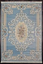 Ковер D701 - BLUE - Прямоугольник - коллекция ROXY