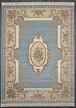 Ковер D703 - BLUE - Прямоугольник - коллекция ROXY
