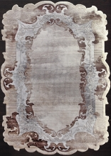 Ковер 00857C - GREY / BROWN - Прямоугольник - коллекция SAFIR - фото 2