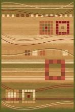 Ковер d080 - GREEN - Прямоугольник - коллекция SAN REMO