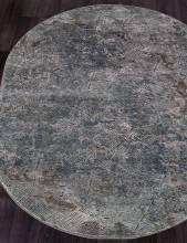 Ковер D771 - GRAY - Овал - коллекция SERENITY